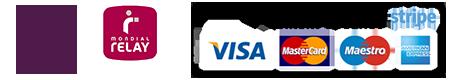 Reves de fil paiement sécurisé et livraison mondial relay et pick and collect