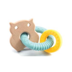 anneau dentaire cahoutchou et bois vendu par rêves de fil
