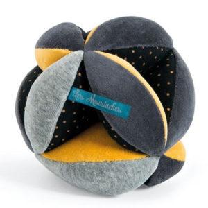 Balle sensorielle Les Moustaches - Moulin Roty vendu par rêve de fil