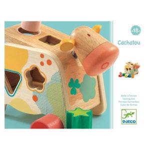 boite à formes djeco jouet d'éveil vendu par reves de fil