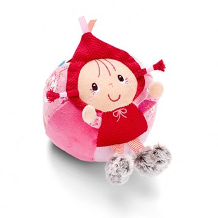 lilliputiens balle chaperon rouge cadeau de naissance vendu par rêves de fil