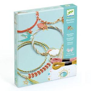 djeco bijoux bracelet céleste à fabriquer vendu par rêves de fil