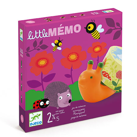 jeu de mémoire little méo marque djeco vendu par reves de fil