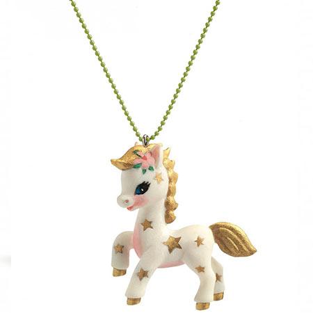 djeco pendentif poney vendu par rêves de fil