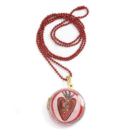 djeco-lovely pendentif coeur vendu par rêves de fil