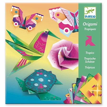 Djeco création d'origami jouet vendu par rêves de fil