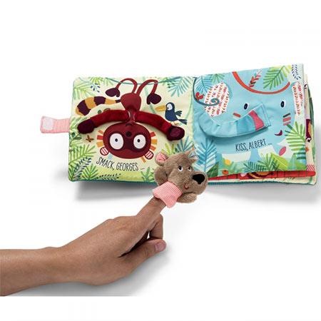 livre bébé césar câlins lilliputiens vendu par reves de fil