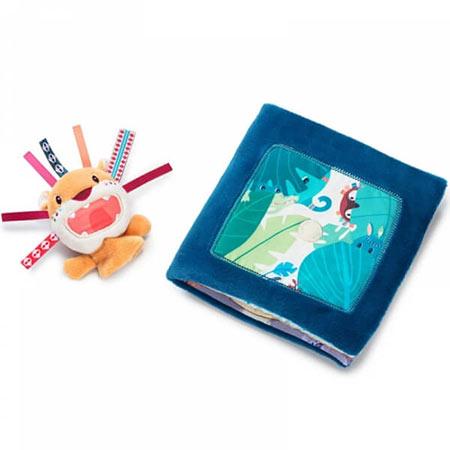 livre bébé jack rugit lilliputiens vendu par reves de fil