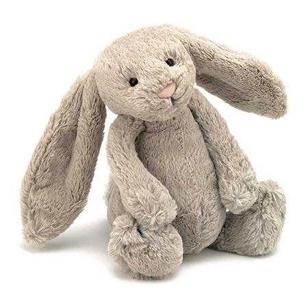 peluche Jellycat Bashful Dusky Beige Bunny vendu par rêves de fil