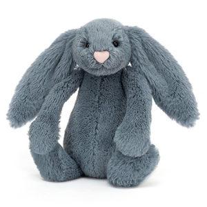 peluche Jellycat Bashful Dusky Blue Bunny vendu par rêves de fil