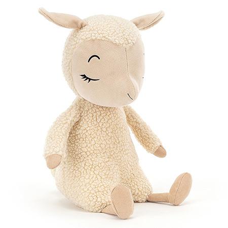 peluche Jellycat mouton qui dort vendu par rêves de fil
