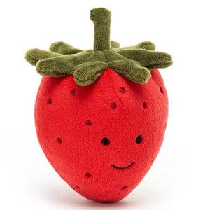 jellycat peluche fraise toute douce vendu par rêves de fil