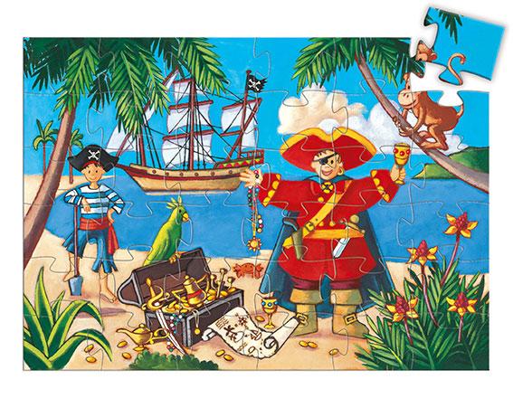 jouet djeco puzzle 36 pièces vendu par rêves de fil