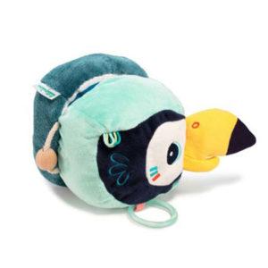 Pablo toucan balle découverte lilliputiens, vendu par rêves de fil.