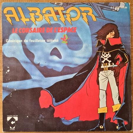 Disque vinyle 45 tours Albator pour enfant vendu par Rêves de Fil.