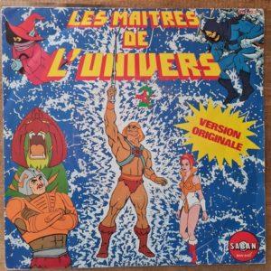 Disque vinyle 45 tours Les Maitres de l'univers pour enfant vendu par Rêves de Fil.