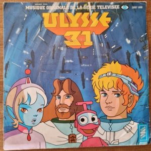 Disque vinyle 45 tours Ulysse 31 pour enfant vendu par Rêves de Fil.