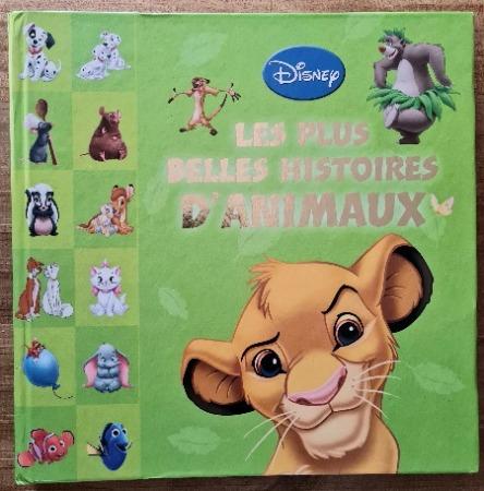 Livre jeunesse disney les plus belles histoires d'animaux vendu par Rêves de Fil.