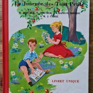 livre jeunesse méthode Boscher pour apprendre à l'école, vendu par Rêves de Fil