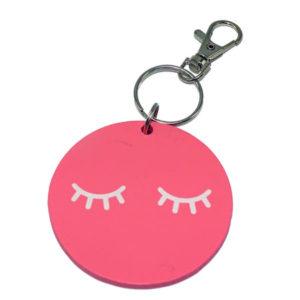 Porte clé Regard de biche, vendu par rêves de fil.