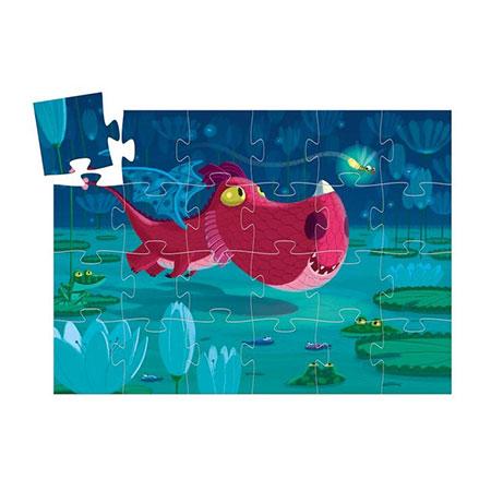 Puzzle dragon djeco 24 pièces pour enfants vendu par reves de fil
