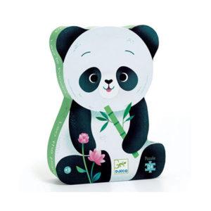 Puzzle panda djeco 24 pièces pour enfants vendu par reves de fil