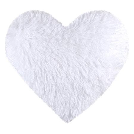 coussin en forme de coeur pour la décoration de la chambre vendu par rêve de fil