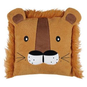 coussin lion Zimba 40x40 cm vendu par rêves de fil