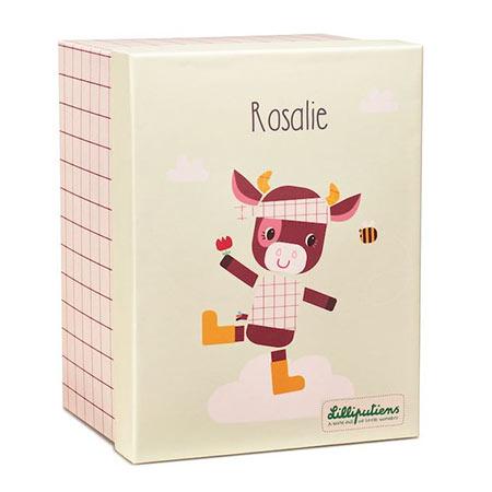 Rosalie peluche en coton bio - Lilliputiens vendu par rêves de fil