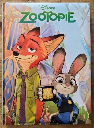 Livre jeunesse Zootopie vendu par Rêves de Fil.