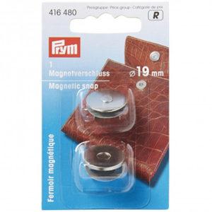 Fermoir magnétique à riveter - Argent prym vendu par rêves de fil