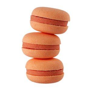 Macaron de bain effervescent parfum vendu par rêves de fil